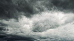 Ευμετάβλητο ταράζοντας σύννεφο απόθεμα βίντεο