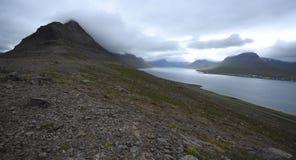 Ευμετάβλητο Alftafjordur Στοκ φωτογραφία με δικαίωμα ελεύθερης χρήσης