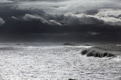 Ευμετάβλητο seascape Στοκ φωτογραφίες με δικαίωμα ελεύθερης χρήσης