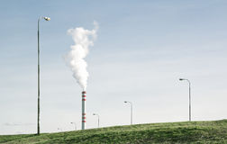 Ευνοϊκή για το περιβάλλον βιομηχανία Στοκ Φωτογραφία
