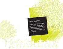 ευνοϊκός για το περιβάλ&lambd απεικόνιση αποθεμάτων
