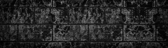Ευρέως μαύρη shabby σύσταση συμπαγών τοίχων Σκοτεινή παλαιά ραγισμένη επ στοκ εικόνες με δικαίωμα ελεύθερης χρήσης