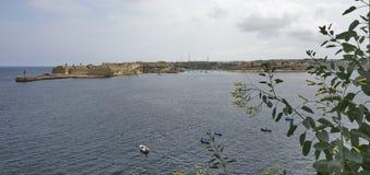 Ευρεία άποψη Λα Valletta της εισόδου στοκ εικόνες