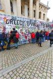 Ευρεία οδός, Οξφόρδη, UK, στις 27 Νοεμβρίου 2016: Εγκατάσταση β τέχνης Στοκ Εικόνες