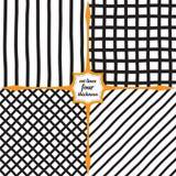 Ευρείες κάθετες γραμμές, πλέγμα, διαμάντια και διαγώνιες γραμμές Στοκ εικόνα με δικαίωμα ελεύθερης χρήσης