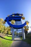 ευρο- αστέρια Στοκ φωτογραφία με δικαίωμα ελεύθερης χρήσης