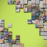 Ευρο- γρίφος τραπεζογραμματίων Στοκ Φωτογραφίες