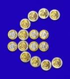 Ευρο- νομίσματα Στοκ εικόνα με δικαίωμα ελεύθερης χρήσης