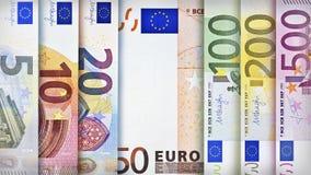 ευρο- ευρωπαϊκά νομίσματος ανασκόπησης ζωηρόχρωμα Στοκ φωτογραφίες με δικαίωμα ελεύθερης χρήσης