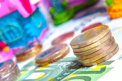 20 50 100 500 ευρο- ευρωπαϊκά νομίσματος Στοκ εικόνες με δικαίωμα ελεύθερης χρήσης