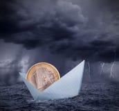 Ευρο- κρίση Στοκ εικόνες με δικαίωμα ελεύθερης χρήσης
