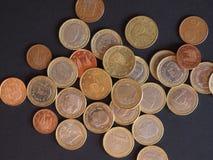 Ευρο- νομίσματα, Ευρωπαϊκή Ένωση Στοκ φωτογραφία με δικαίωμα ελεύθερης χρήσης