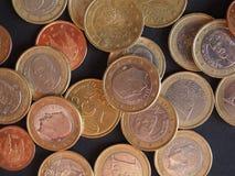 Ευρο- νομίσματα, Ευρωπαϊκή Ένωση Στοκ εικόνες με δικαίωμα ελεύθερης χρήσης