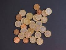 Ευρο- νομίσματα, Ευρωπαϊκή Ένωση Στοκ Φωτογραφία