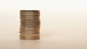 Ευρο- νομίσματα της ΕΥΡ, ΕΕ της Ευρωπαϊκής Ένωσης Στοκ Εικόνες