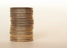 Ευρο- νομίσματα της ΕΥΡ, ΕΕ της Ευρωπαϊκής Ένωσης Στοκ φωτογραφία με δικαίωμα ελεύθερης χρήσης