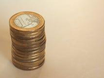 Ευρο- νομίσματα της ΕΥΡ, ΕΕ της Ευρωπαϊκής Ένωσης Στοκ εικόνα με δικαίωμα ελεύθερης χρήσης