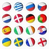 ευρο- ποδόσφαιρο του 2012 Απεικόνιση αποθεμάτων