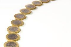 Ευρο- σειρά νομισμάτων Στοκ Φωτογραφία