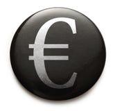 Ευρο- σημάδι νομίσματος Στοκ φωτογραφία με δικαίωμα ελεύθερης χρήσης