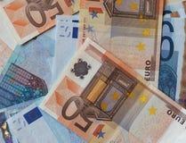 Ευρο- σημειώσεις της ΕΥΡ, ΕΕ της Ευρωπαϊκής Ένωσης Στοκ φωτογραφίες με δικαίωμα ελεύθερης χρήσης