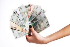 ευρο- στιλβωτική ουσία χρημάτων μερών Στοκ φωτογραφία με δικαίωμα ελεύθερης χρήσης