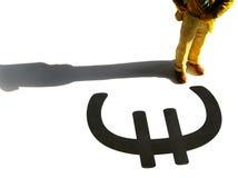 ευρο- σύμβολο Στοκ Εικόνα