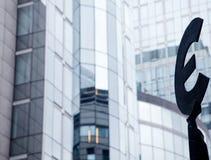 Ευρο- σύμβολο Στοκ φωτογραφίες με δικαίωμα ελεύθερης χρήσης