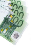 Ευρο- τράπεζα χρημάτων για τον προϋπολογισμό σας στην επένδυση Στοκ φωτογραφίες με δικαίωμα ελεύθερης χρήσης