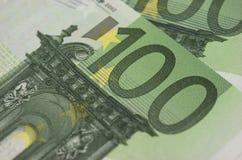 Ευρο- τραπεζογραμμάτια Στοκ Φωτογραφία