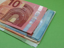 Ευρο- χαρτονομίσματα και νομίσματα, Ευρωπαϊκή Ένωση Στοκ φωτογραφίες με δικαίωμα ελεύθερης χρήσης