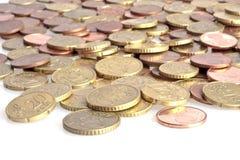 ευρο- χρήματα μικρά στοκ εικόνες