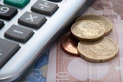 ευρο- χρήματα Στοκ φωτογραφίες με δικαίωμα ελεύθερης χρήσης