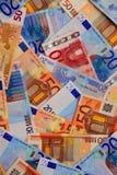 ευρο- χρήματα Στοκ εικόνα με δικαίωμα ελεύθερης χρήσης