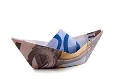 Ευρο- χρήματα στοκ εικόνα