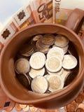 Ευρο- χρηματοδότηση χρημάτων Στοκ εικόνες με δικαίωμα ελεύθερης χρήσης