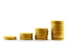 ευρο- χρυσός δολαρίων νομισμάτων Στοκ εικόνα με δικαίωμα ελεύθερης χρήσης