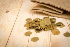 ευρο- χρυσός δολαρίων νομισμάτων Στοκ φωτογραφία με δικαίωμα ελεύθερης χρήσης