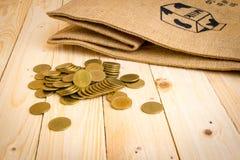 ευρο- χρυσός δολαρίων νομισμάτων Στοκ Εικόνα