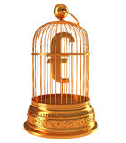 ευρο- χρυσό σύμβολο χρημά&ta Στοκ φωτογραφίες με δικαίωμα ελεύθερης χρήσης