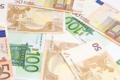 Ευρο- bankotes Στοκ Εικόνες