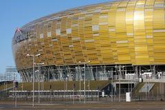 ευρο- UEFA σταδίων του Γντανσκ pge Πολωνία χώρων του 2012 Στοκ φωτογραφία με δικαίωμα ελεύθερης χρήσης