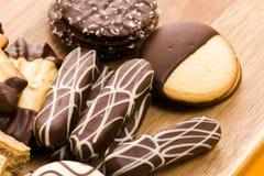 Ευρωπαϊκά μπισκότα στοκ εικόνες