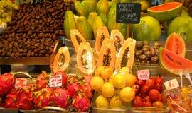 ευρωπαϊκά προϊόντα αγοράς Στοκ Φωτογραφία