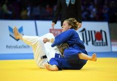 Ευρωπαϊκά πρωταθλήματα Βαρσοβία 2017 τζούντου, Στοκ Φωτογραφία