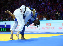Ευρωπαϊκά πρωταθλήματα Βαρσοβία 2017 τζούντου, Στοκ εικόνα με δικαίωμα ελεύθερης χρήσης