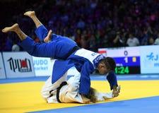 Ευρωπαϊκά πρωταθλήματα Βαρσοβία 2017 τζούντου, Στοκ Εικόνα