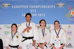 Ευρωπαϊκά πρωταθλήματα 2013 τζούντου Στοκ φωτογραφίες με δικαίωμα ελεύθερης χρήσης