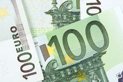 Ευρωπαϊκά χρήματα, ένα υπόβαθρο Στοκ φωτογραφία με δικαίωμα ελεύθερης χρήσης