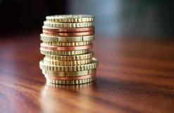 ευρωπαϊκά χρήματα Στοκ Φωτογραφίες